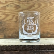 Whiskey Old Fashioned Glass // Rack Man