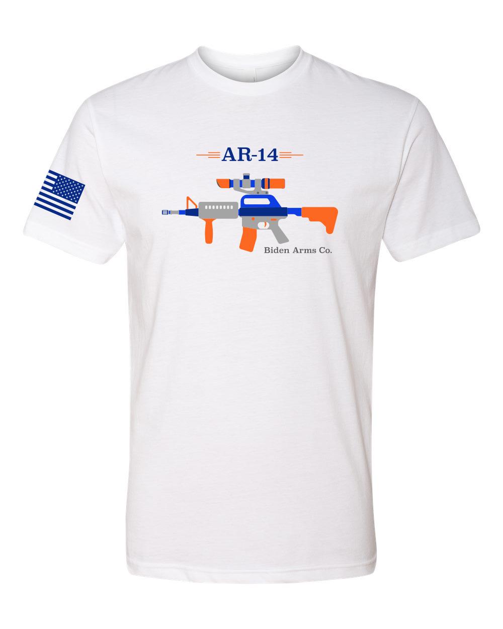 AR-14 - Biden Arms Co - Don't be a horses ass - Adult Mens ...
