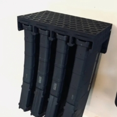 4x PMag Wall Mount