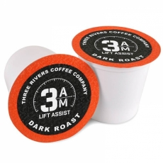 3 AM LIFT ASSIST COFFEE PODS 12PK