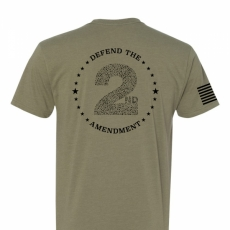Defend the 2nd Amendment - Adult Mens T-Shirt