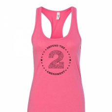 Defend the 2nd Amendment - Adult Womens Racerback Tank