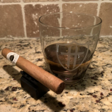 Tactical Threads Whiskey Glass + Cigar Rest COMBO