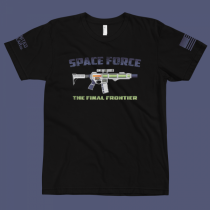 Space Force : The Final Frontier Premium T Shirt